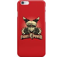 Fight the Power! iPhone Case/Skin
