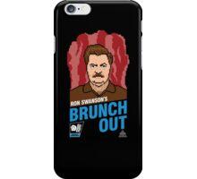 Ron Swanson's BrunchOut iPhone Case/Skin