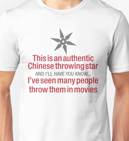 Throwing Star Unisex T-Shirt