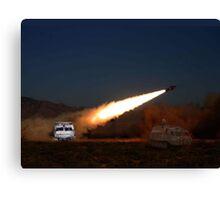 SHADO Missile  Canvas Print
