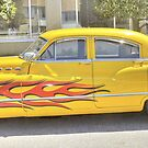 Hot Rod Flames by Monte Morton