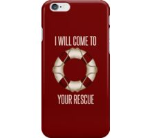 Rescue iPhone Case iPhone Case/Skin