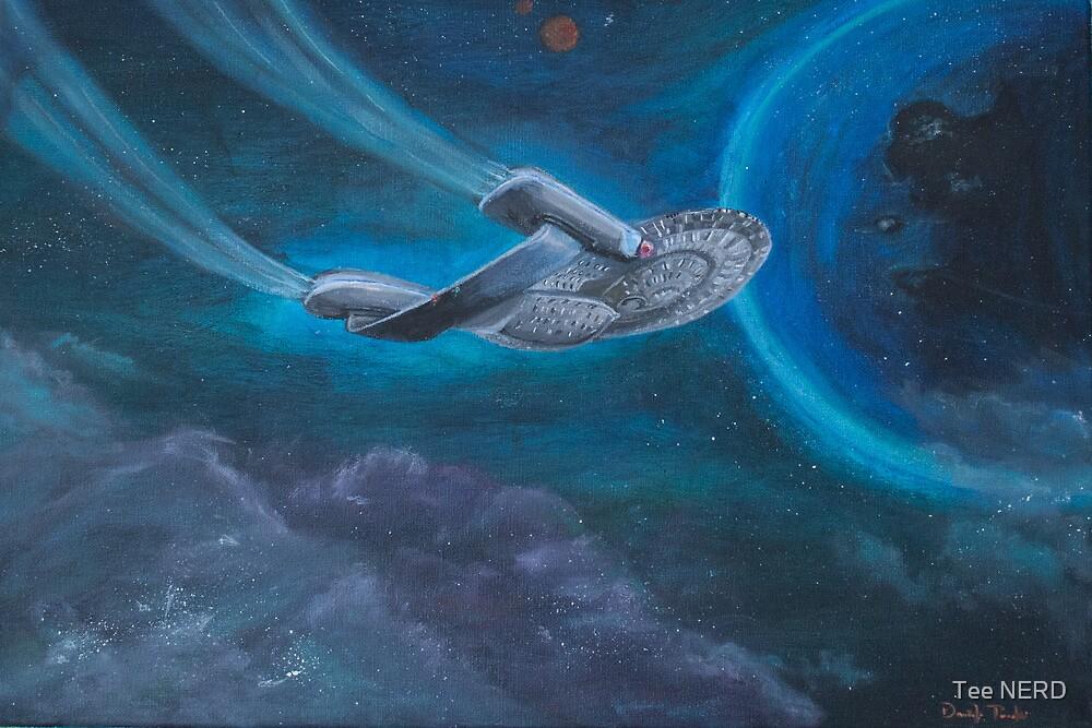 Enterpise D   Star Trek by Tee NERD