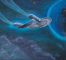 Enterpise D | Star Trek by Tee NERD