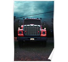 Water Truck Poster
