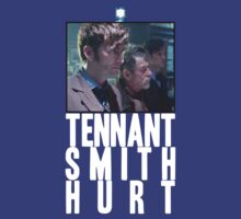 Tennant Smith Hurt (3 Doctors) by PheromoneFiend