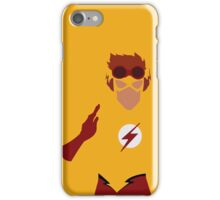 Kid Flash Minimalism  iPhone Case/Skin