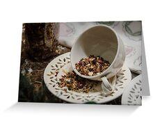 Herbal Tea Greeting Card