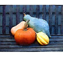 Harvest Rustic Photographic Print