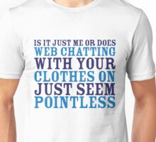 Web Chatting Unisex T-Shirt
