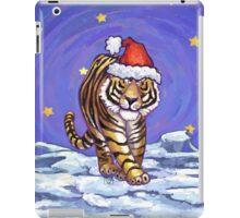 Tiger Christmas iPad Case/Skin