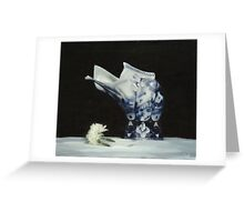 The Delft Vase Greeting Card