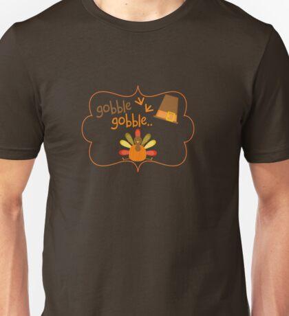 happy thanksgiving turkey day  Unisex T-Shirt