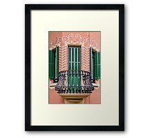 Antoni Gaudi's House Framed Print