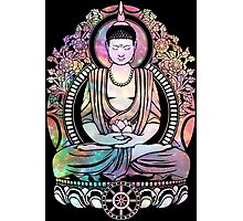 Cosmic Bodhi Outlined Photographic Print