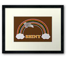 Firefly - Serenity | Double rainbow Framed Print