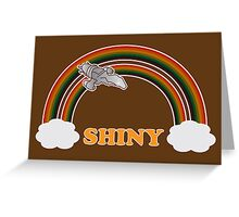 Firefly - Serenity | Double rainbow Greeting Card