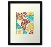 Birds in Disguise Framed Print