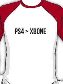 PS4 > XBONE T-Shirt