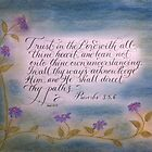 """Trust in the Lord"" by Melissa Goza"
