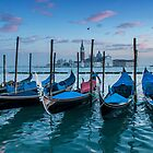 Gondola parking lot II by Roberto Bettacchi