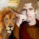 Saint Mark the Evangelist by Rowan  Lewgalon
