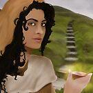 Saint Mary Magdalene by Rowan  Lewgalon