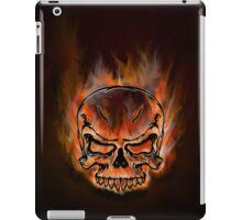 Skull On Fire iPad Case iPad Case/Skin