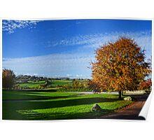 Beautiful Devon Countryside -Shute Devon UK Poster