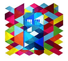 Geometric TARDIS by Darth-Sarah