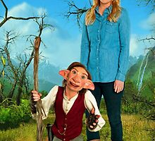 Yonderland - Debbie and Elf by meggie1tr