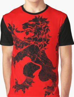 Black Lion Rampant Graphic T-Shirt