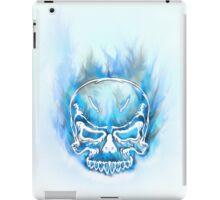 Skull Ice Cold Flames iPad Case/Skin