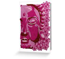 Buddha Blossom Greeting Card