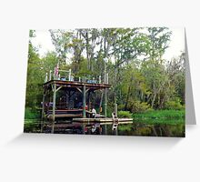 Relaxation Pier Artistic Photographer by Shannon Sears Greeting Card
