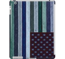 bricks on a flag iPad Case/Skin