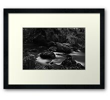 Below Colwith Force- Infra Red Framed Print