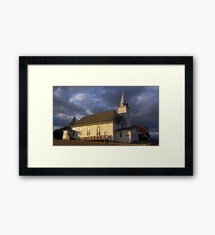 St. Columba Framed Print