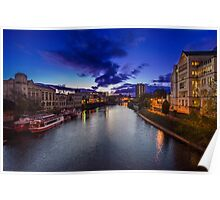 Sunrise on the River Ouse Poster