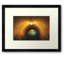 At The End Of... Framed Print