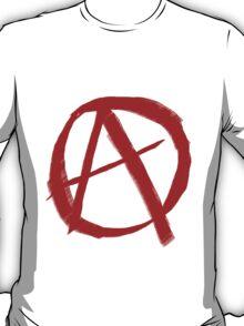 Anarchy Symbol Graffiti Style T-Shirt