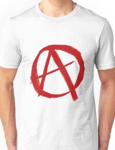 Anarchy Symbol Graffiti Style Unisex T-Shirt