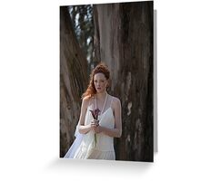 Runaway Bride  Greeting Card
