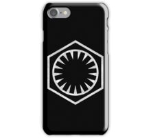 First Order Logo iPhone Case/Skin