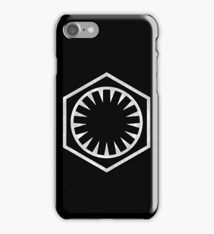 First Order Logo iPhone Case/Skin