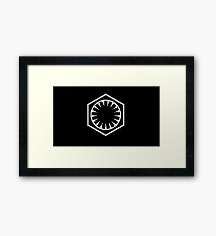 First Order Logo Framed Print
