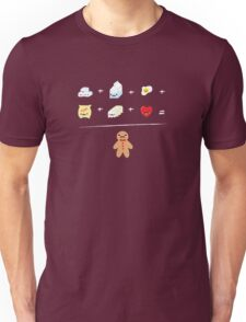 Gingerbread Man Recipe Unisex T-Shirt