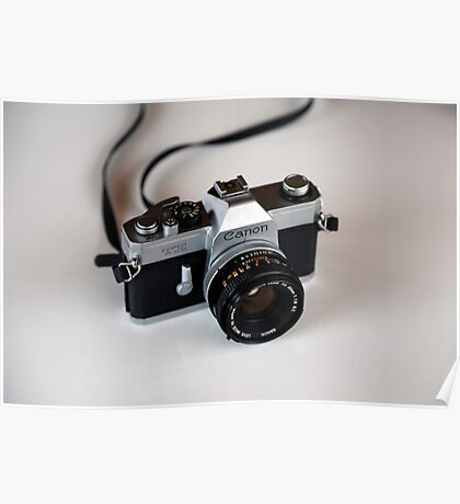 Canon TX vintage film SLR Poster