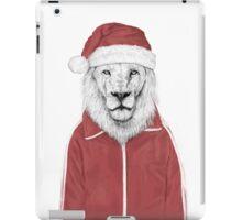 Santa lion iPad Case/Skin