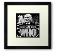Doctor Who 50th Anniversary - First Doctor Framed Print